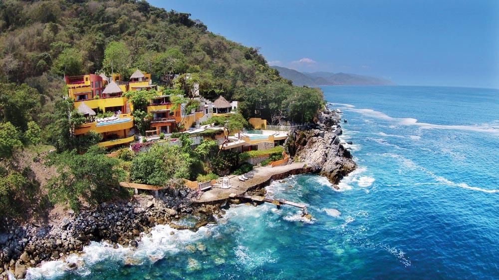 Villas Mandarinas Puerto Vallarta Jalisco Mexico Leading Estates Of The World