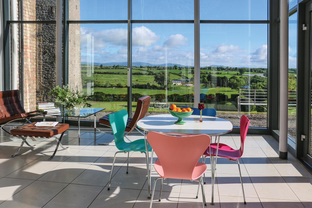 in the tranquil and unspoiled blackwater valley of north cork a stunning georgian estate with its restored medieval castle overlooks the river blackwater