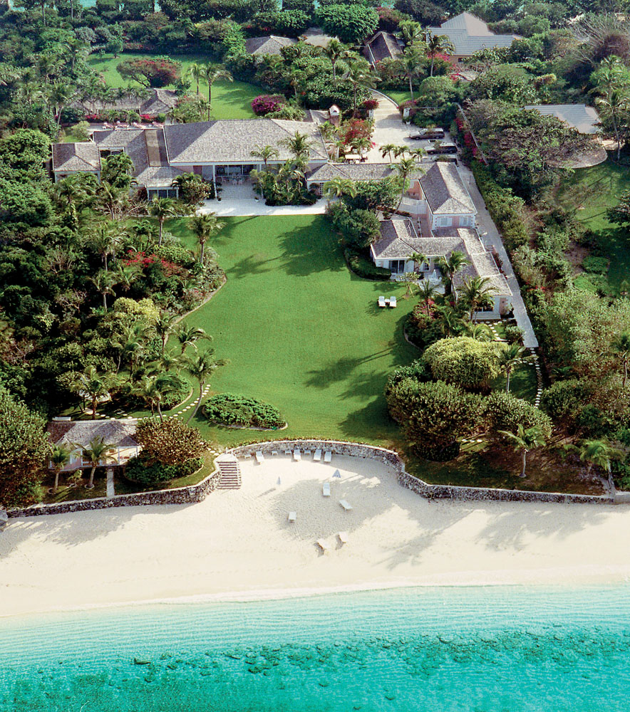 Mellon Family Estate Lyford Cay Bahamas Prior Offering 25 000 Furnished