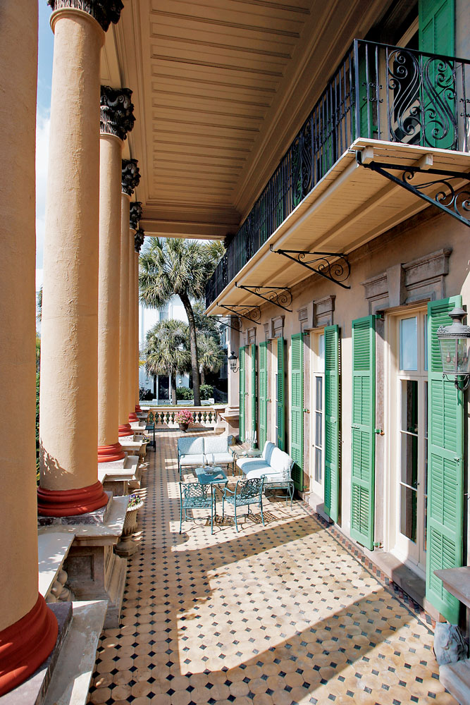 Isaac Jenkins Mikell House Charleston South Carolina
