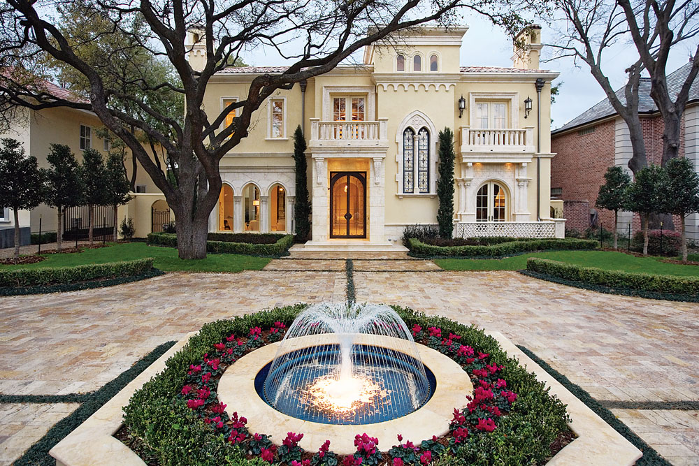 Highland Park Masterpiece Dallas Texas Leading Estates
