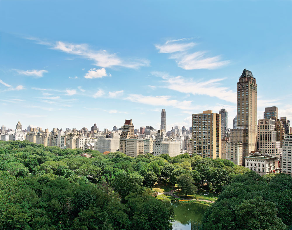 Central park view penthouse manhattan new york leading for Central park penthouses