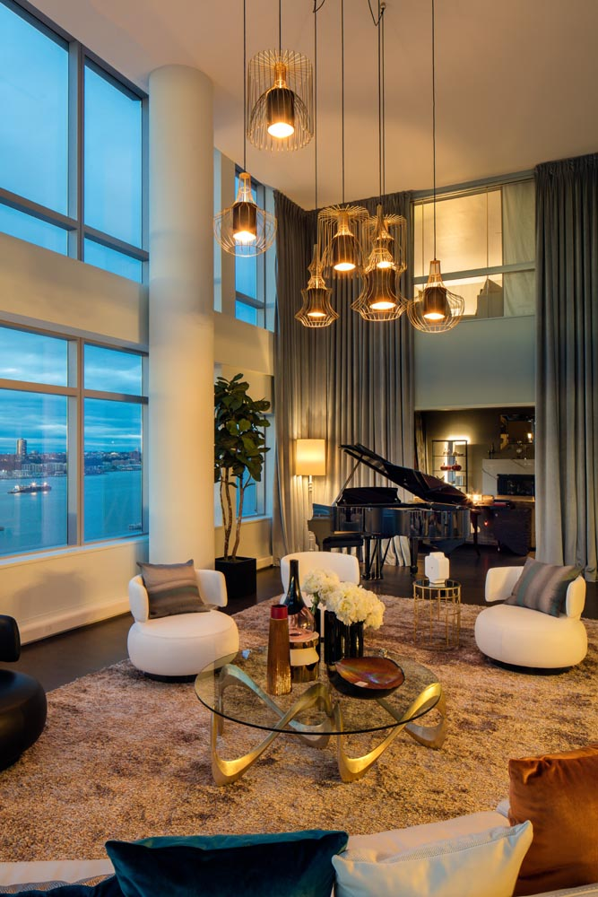 Magical Riverside Boulevard Penthouse Manhattan New York