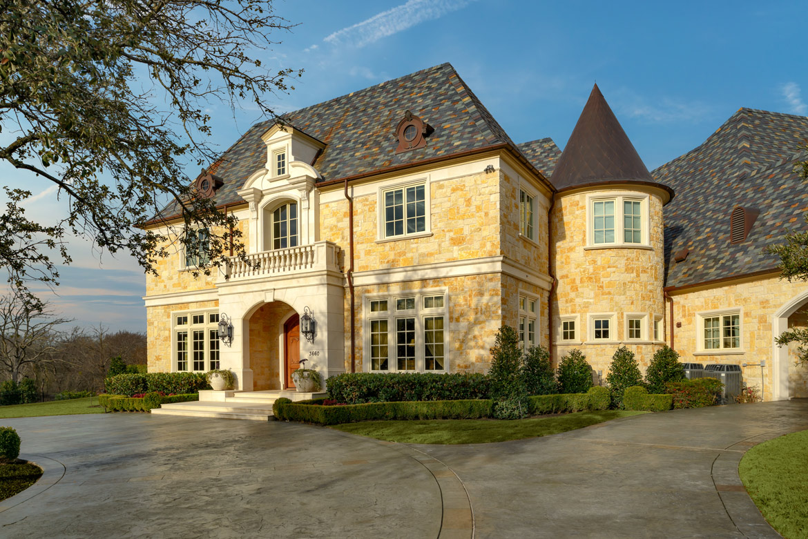 French Country Domain Deep In The Heart Of Plano, Texas