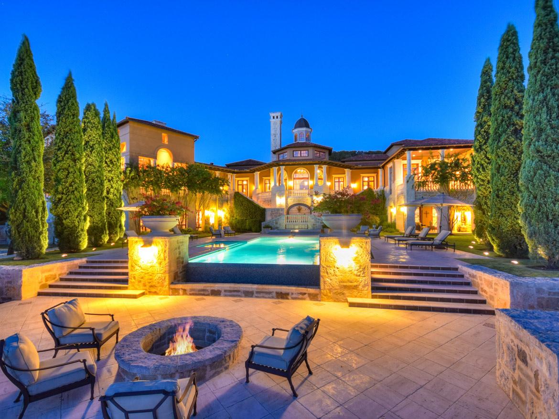 Palatial Italian Villa San Antonio Texas Leading